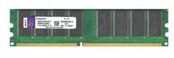 Оперативная память DDR, 1GB, PC-3200, 400MHZ, KINGSTON KVR400X64C3A/1G