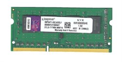 DDR3, 4Gb, 1333MHz, Kingston KVR1333D3S9/4G - фото 422