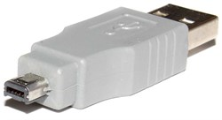 Переходник USB A (AM) - USB Mini B 4pin (Mitsumi)
