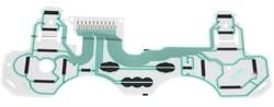 Контактная подложка(плёнка) для ремонта джойстика PS3 PlayStation 3