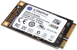 Жёсткий диск SSD mSATA, 60 Gb, Kingston SMSM151S3/60G