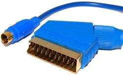 Кабель - переходник S-Video - SCART, 1.4 метра