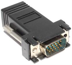 Переходник VGA  - RJ45 (витая пара)