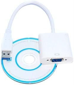 Внешняя USB видеокарта (переходник) USB 3.0 - VGA
