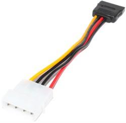 Кабель питания (переходник) Molex IDE 4 Pin - SATA