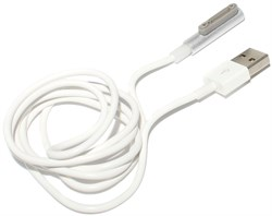 Кабель магнитный для Sony Xperia Z1, Z2, Z3, белый
