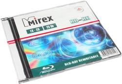 Диски для записи (болванки), BD-RE, Blu Ray Rewritable, 25 Gb, 1x - 2x, Mirex