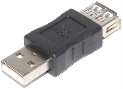 Переходник (адаптер) USB A (мама) - USB A (папа), f - m