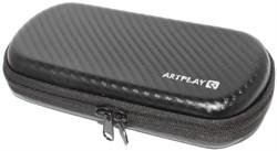 Чехол (сумка) для PSP (PlayStation Portable), жёсткий, цвет - карбон