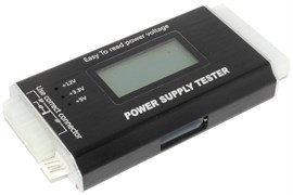 Тестер блоков питания АТХ 20/24pin (Power supply tester)