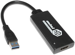 Внешняя видеокарта USB 3.0 - HDMI (переходник, адаптер, конвертер)