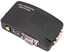 Конвертер (переходник) с VIDEO (S-VIDEO, тюльпан RCA) на VGA