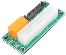Синхронизатор запуска двух блоков питания ATX (с реле), SATA