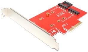 Переходник (адаптер) SSD M.2 (NGFF) (Key M и Key B) на PCI-E x4