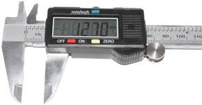 Электронный цифровой штангенциркуль 150 мм, с глубиномером