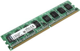 Оперативная память Kingston DDR2, 800Mhz, 512Mb, PC2-6400, KVR800D2N6/512