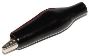 """Зажим """"крокодил"""", 40 мм, 3А, чёрный"""