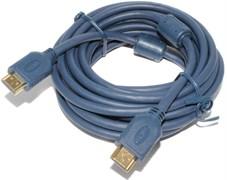 Кабель HDMI - HDMI с ферритовыми фильтрами, 5 метров
