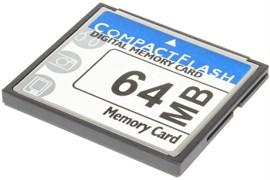 Карта памяти CompactFlash (CF), 0.063 Gb (64 Mb)