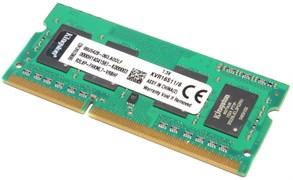 Оперативная память DDR3, 8Gb, 1600MHz (PC-12800), Kingston KVR16S11/8